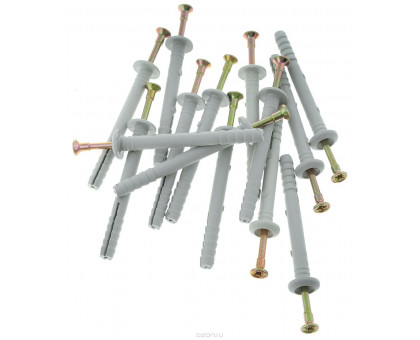 Дюбель-гвоздь 6х40 мм полипроп.гриб(50шт.в пласт.конт) STARFIX (SMP2-82198-50