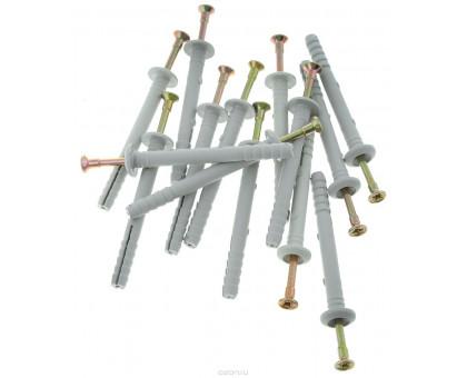 Дюбель-гвоздь 6х80 мм полипроп.гриб(10шт.в зип-локе) STARFIX (SMZ3-82238-10)