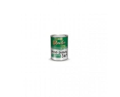 Грунт-эмаль по ржавчине 3 в 1 белая (0,8кг)
