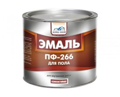 Эмаль для пола ПФ-266 красно-коричн. (1,8 кг)