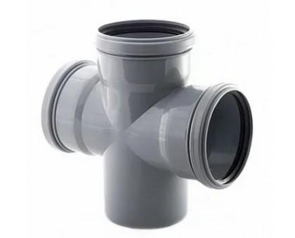Крестовина для внутренней канализации 110/110/110х87 РосТурПласт
