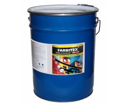 Эмаль алкидная ПФ-115 темно-серый (20 кг) FARBITEX