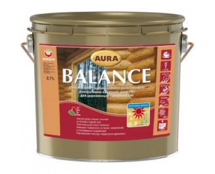 Aura Balance 2,7 л. Декор.защитное ср-во для древесины Финляндия