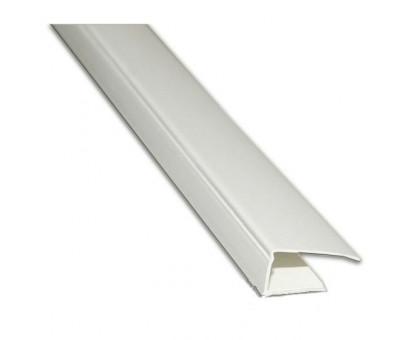 Стартовый профиль белый DekoMold 3м (7мм) Декопласт