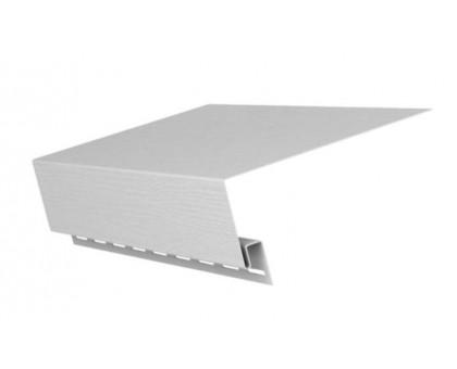 """Комплектующие к ст.панелям для н/о типа """"Сайдинг"""" S-120 Планка приоконная бел"""